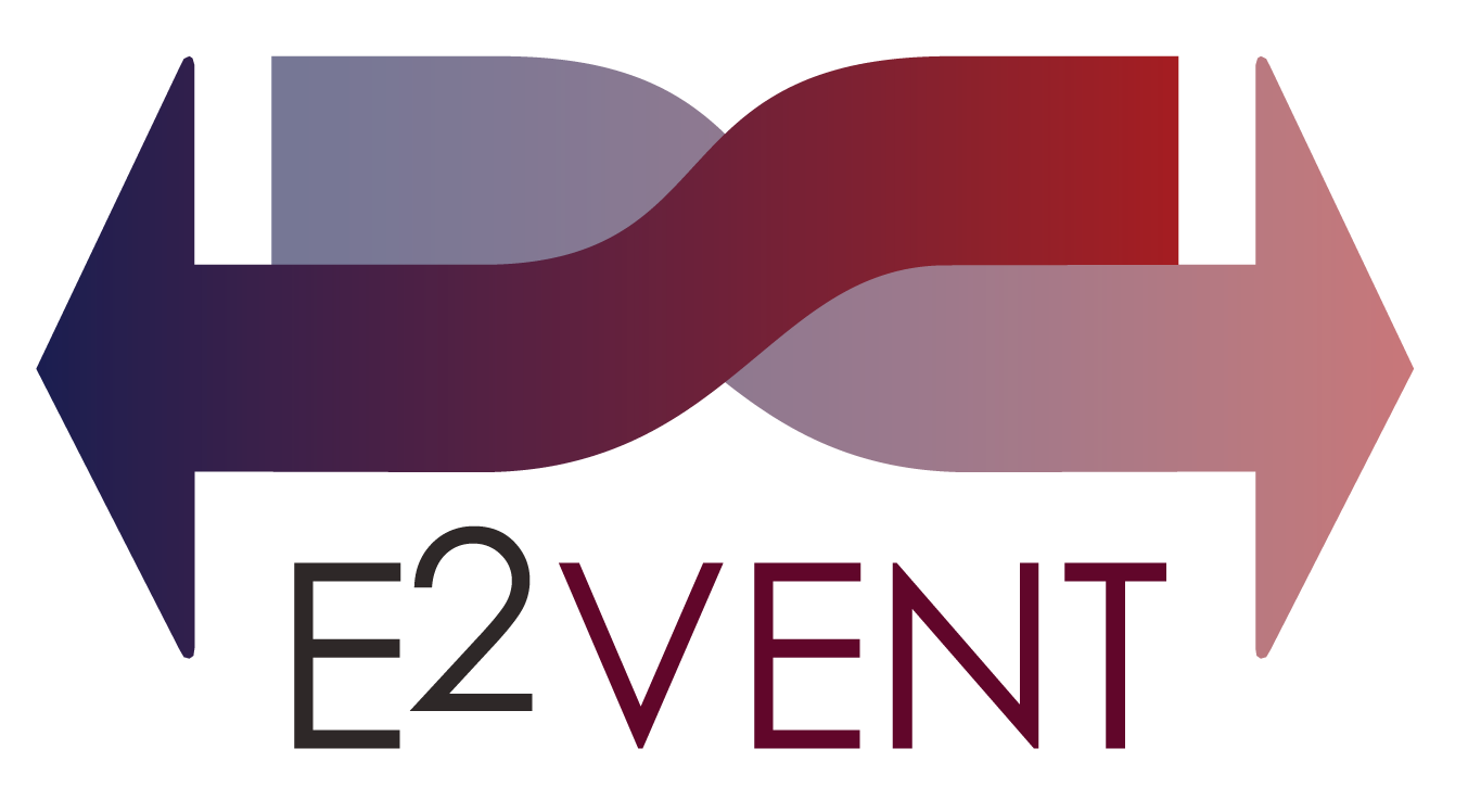 Logo E2VENT NBK colorful